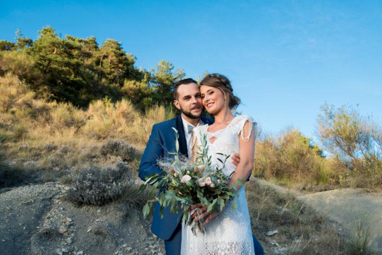 Shooting d'inspiration Mariage en Provence – Lunaire, Minéral, Raffiné