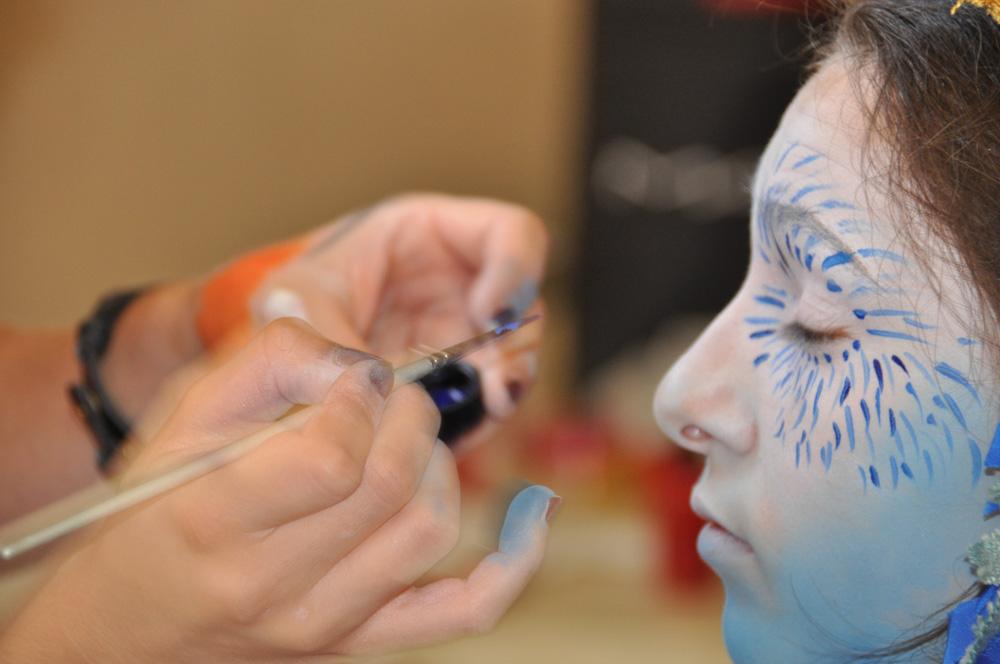 Margot Dumas Artiste Maquilleuse défilé biennale danse